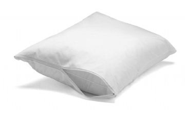 PROTECT-A-BED ALLERZIP Bed Bug (bedbug) Proof Pillow Cover (1 PAIR)